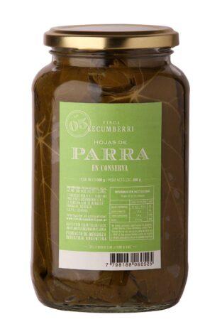 HOJAS DE PARRA