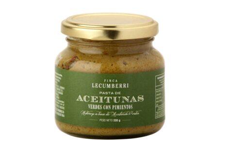 pasta de aceituna verde con berenjena FINCA LECUMBERRI
